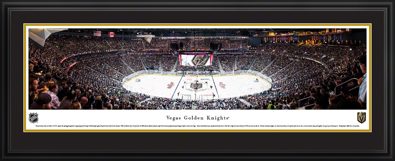 Vegas Golden Knights Panoramic Picture T Mobile Arena Vegas Golden Knights Panoramic Pictures Golden Knights