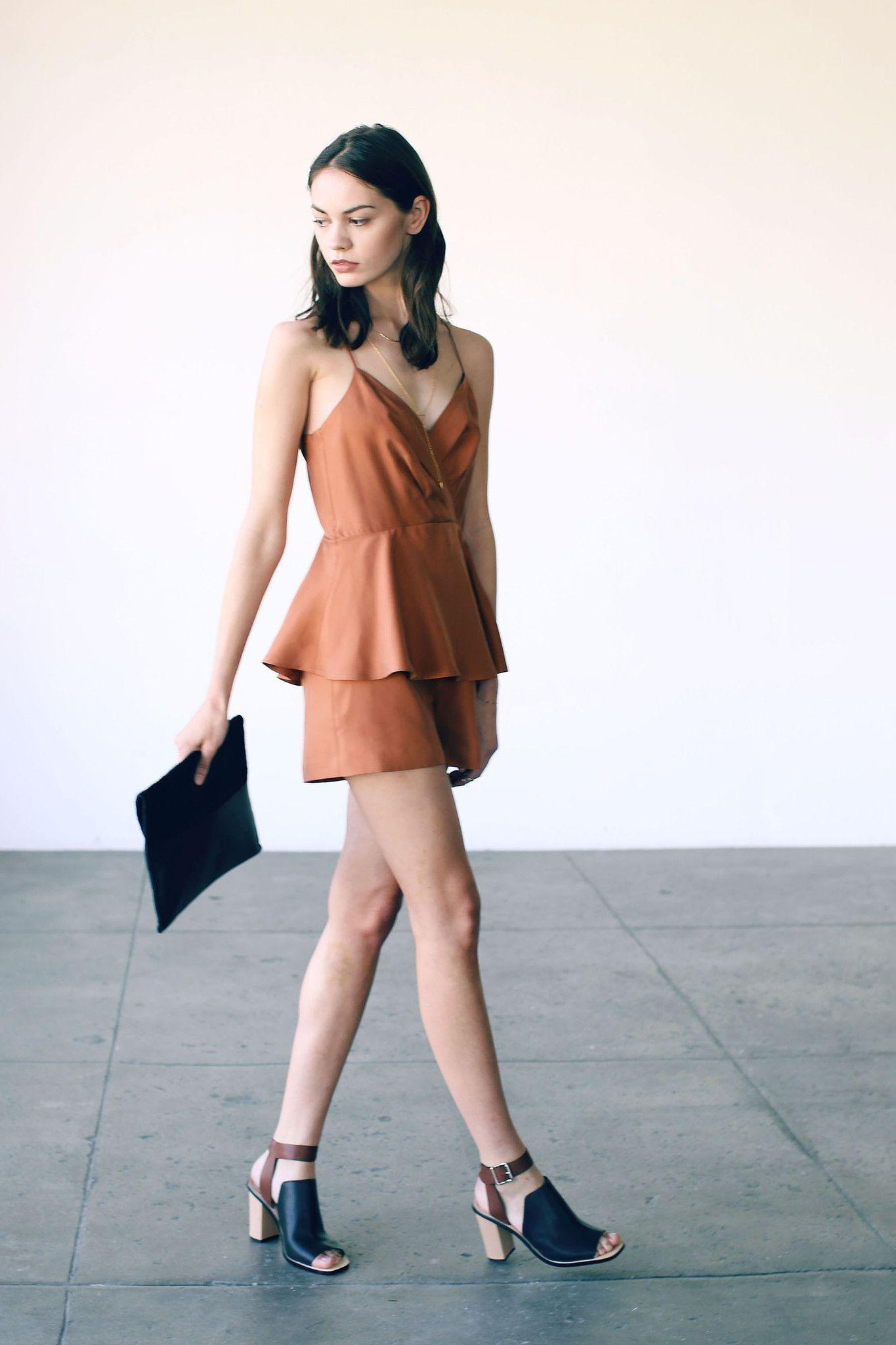 Cosette Orianna Silk Romper