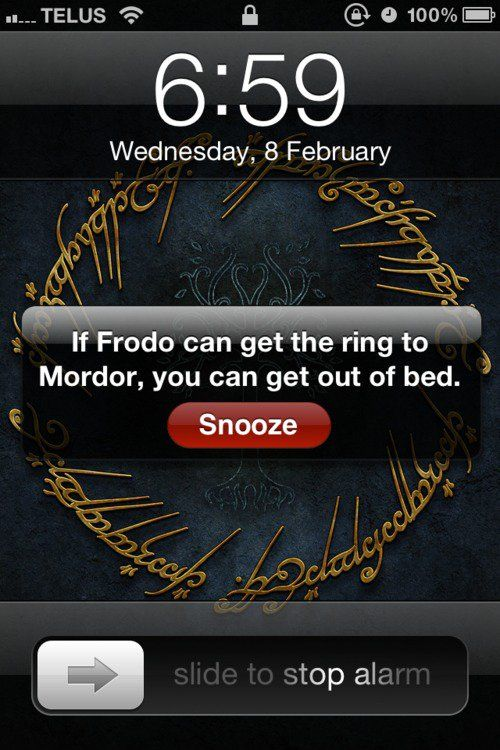 If Frodo can get the ring to Mordor