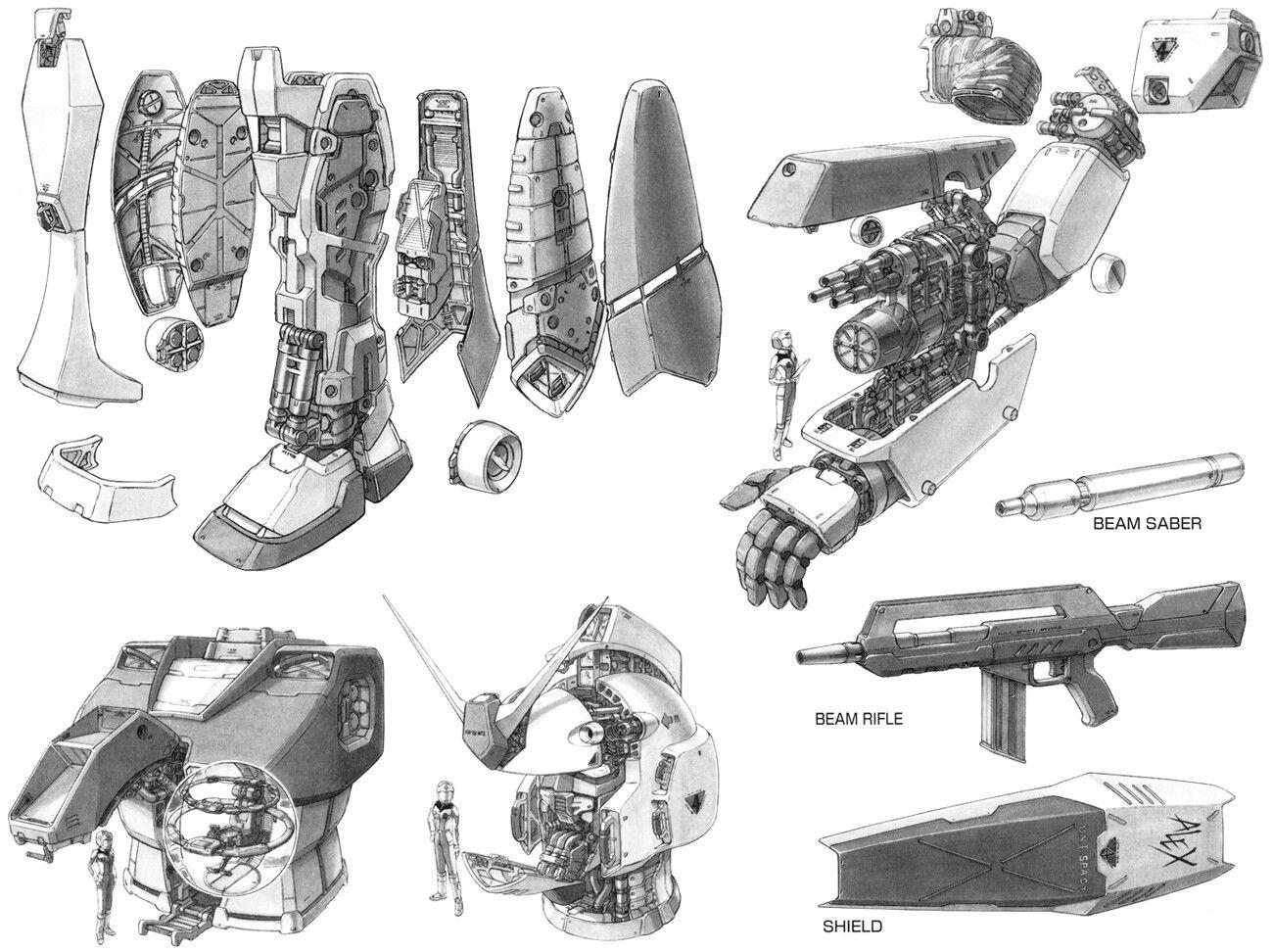 Gundam Anatomy