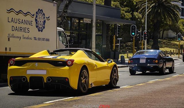 Ferrarifriday With This Radically Cool Combo Down In Cape Town