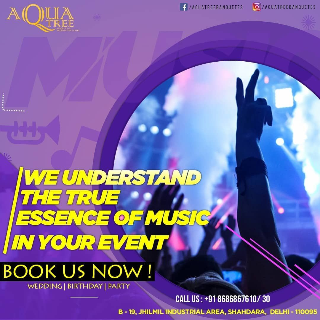 We understand the true essence of music in your event!