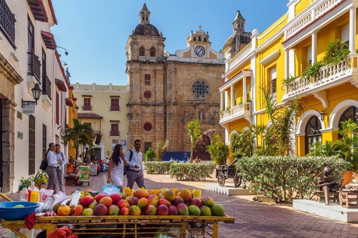 Walk The Colorful Streets Of Cartagena, Colombia