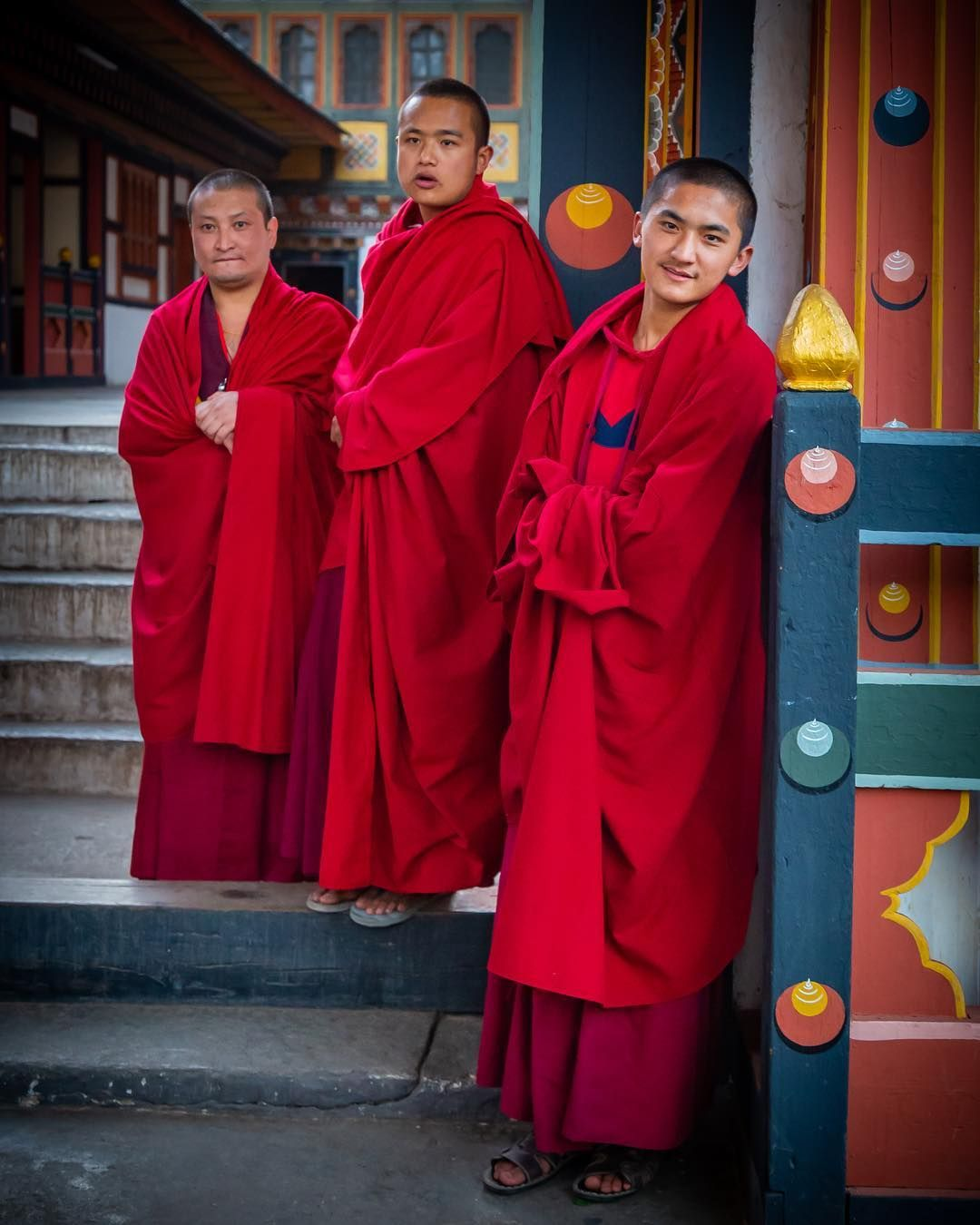 "Jay Majithia on Instagram: ""Buddhist monks @ Tashichho Dzong"