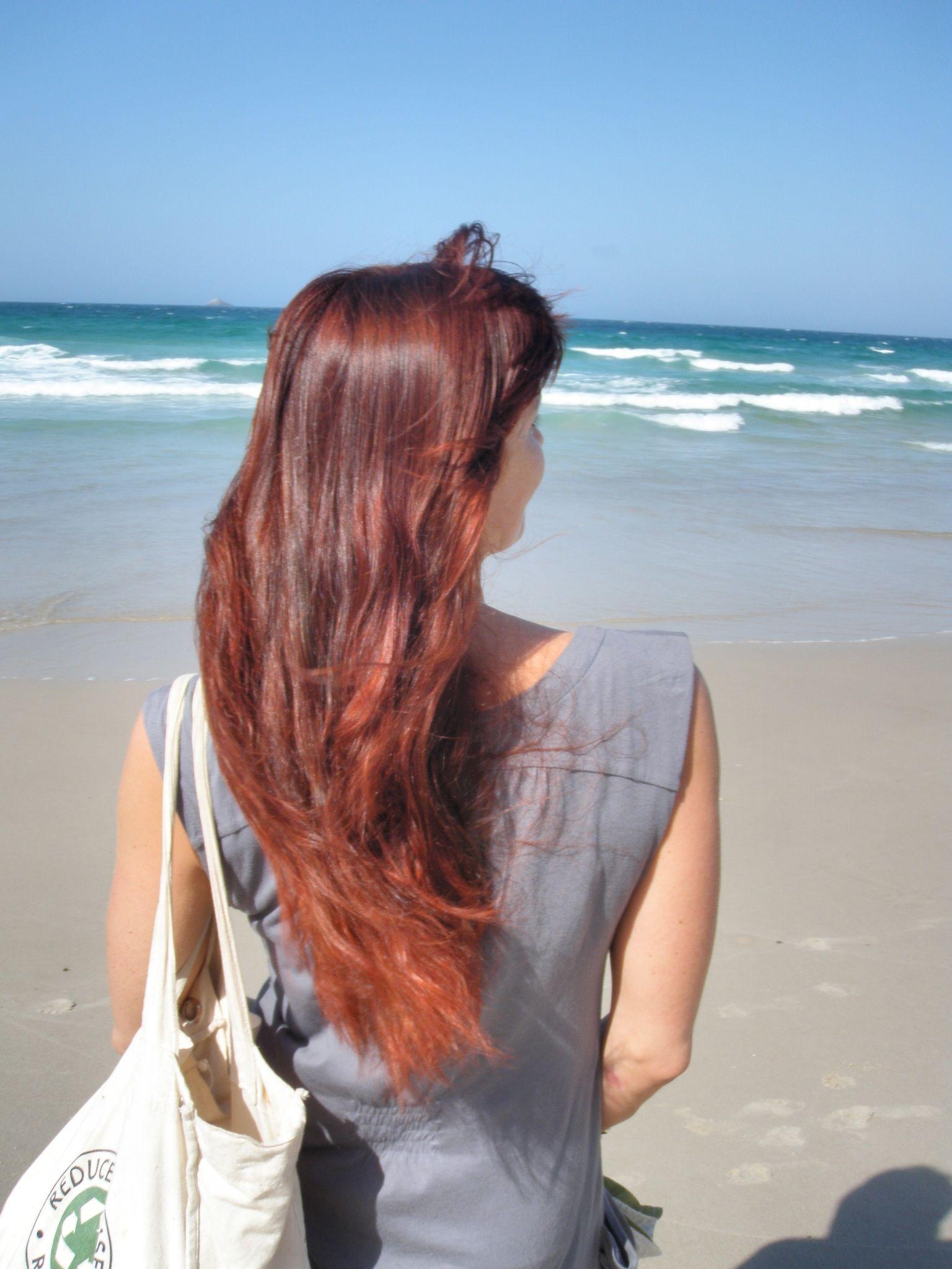 Dark Red Henna On Medium Brown Hair Hair Likes Red Hair