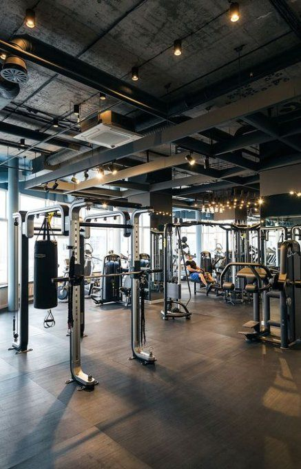 33+ Ideas Fitness Gym Design Spaces Behance #fitness #gymfacilities