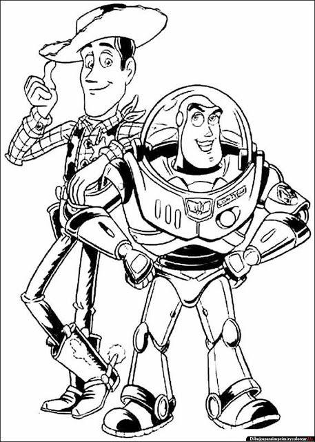 Dibujos de Toy Story para Imprimir y Colorear | Disney Picks ...