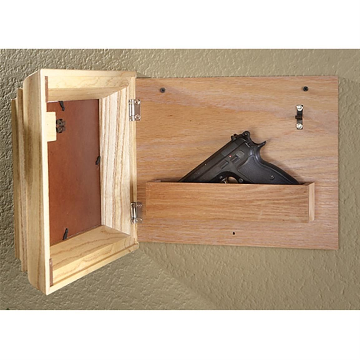 Guide Gear® Hide - A - Gun Picture Frame - 207535, Gun Safes at ...