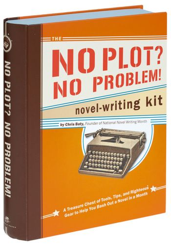 No Plot, No Problem Novel Writing Kit by Chronicle Books - Handmade & DIY, Scholastic/Collegiate, Top Rated