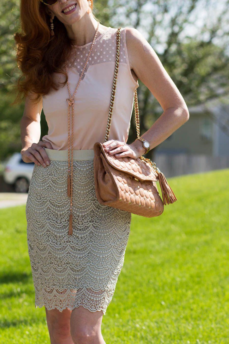 Turning Heads Linkup and I'm Blushing! - Elegantly Dressed & Stylish - Over 40 Fashion Blog