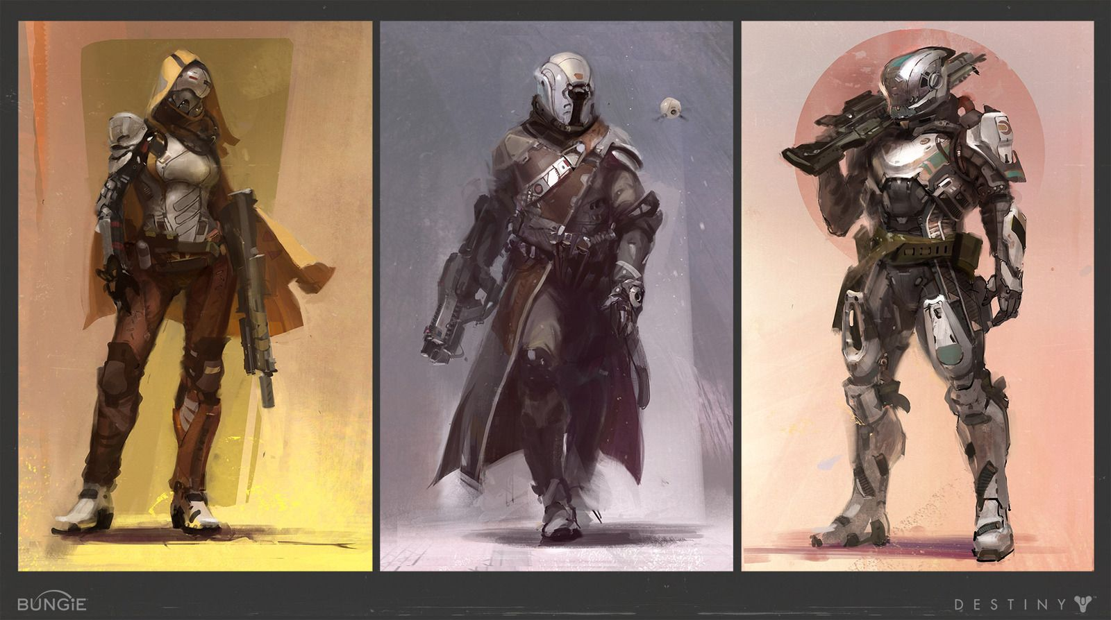 Destiny wallpaper bungie destiny artwork2 jpg - Guardian Characters Done For Bungie S New Game Destiny