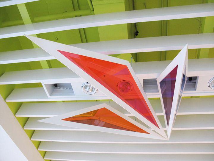 Bershka shop interior decoration & lighting by Alex Montiel visual ... | title