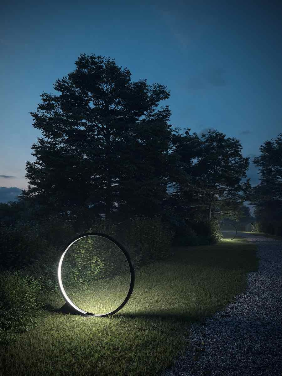 O lighting design collection respects the nocturnal needs of urban Nature