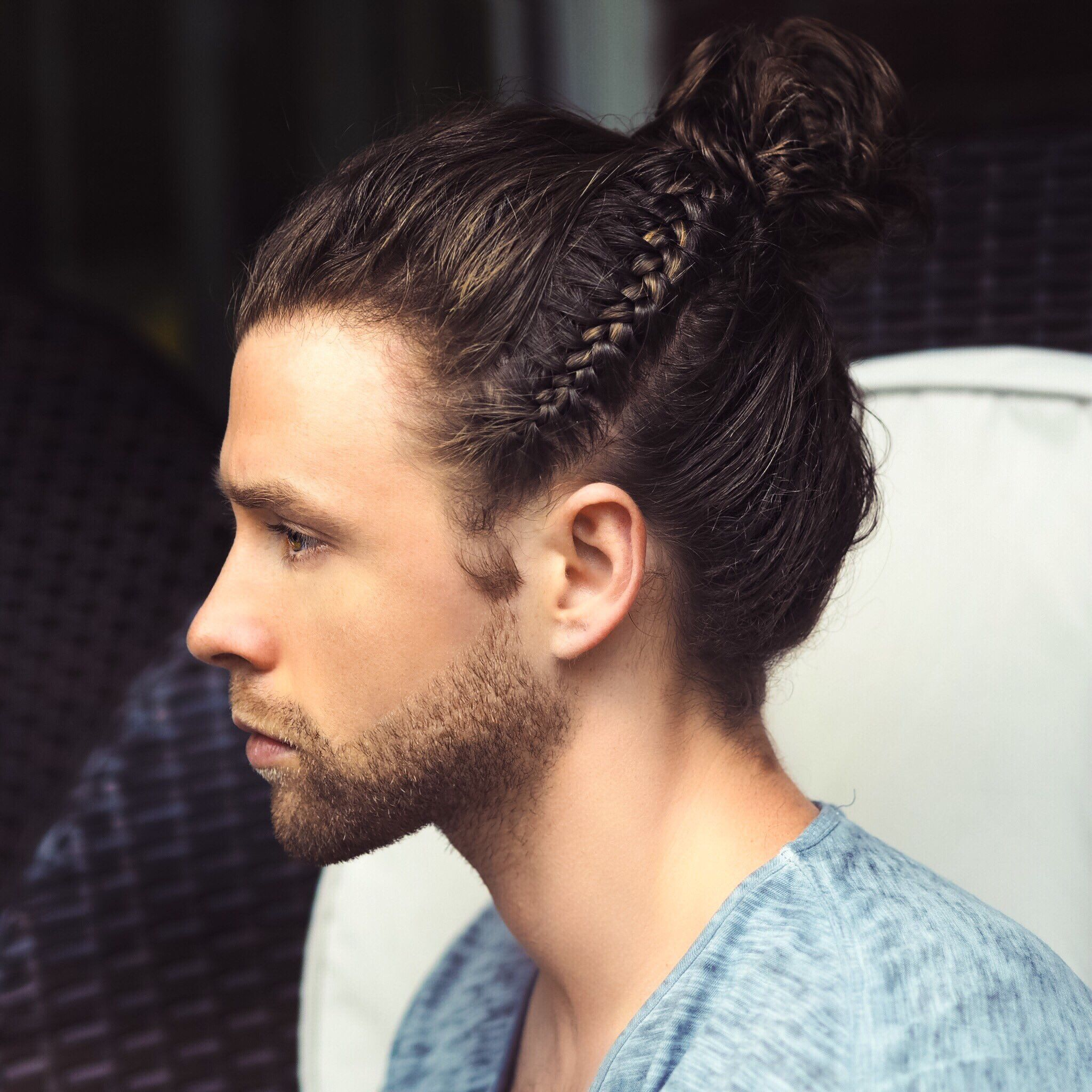 Pin By Abdelrhman Ayman On Barbering Inspiration Mens Braids Hairstyles Hair Styles Long Hair Styles