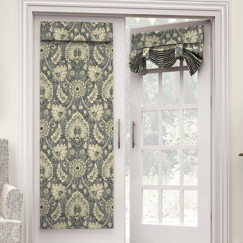 Perfect Curtain Panel For Glass Door Wow Where Has This Been All