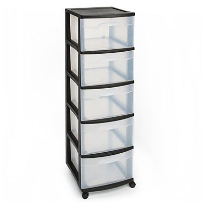 Sterilite 5 Drawer Plastic Storage Cart At Big Lots Plastic Storage Sterilite Storage And Organization