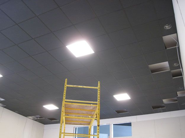 Painted Drop Ceiling Dropped Ceiling Drop Ceiling Tiles Grey Ceiling
