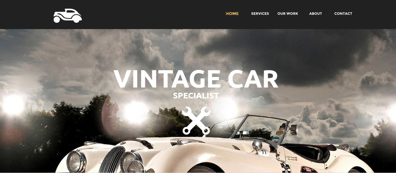 Vintage Car Xara Web Designer Template https://www.x5tuts.com/item ...
