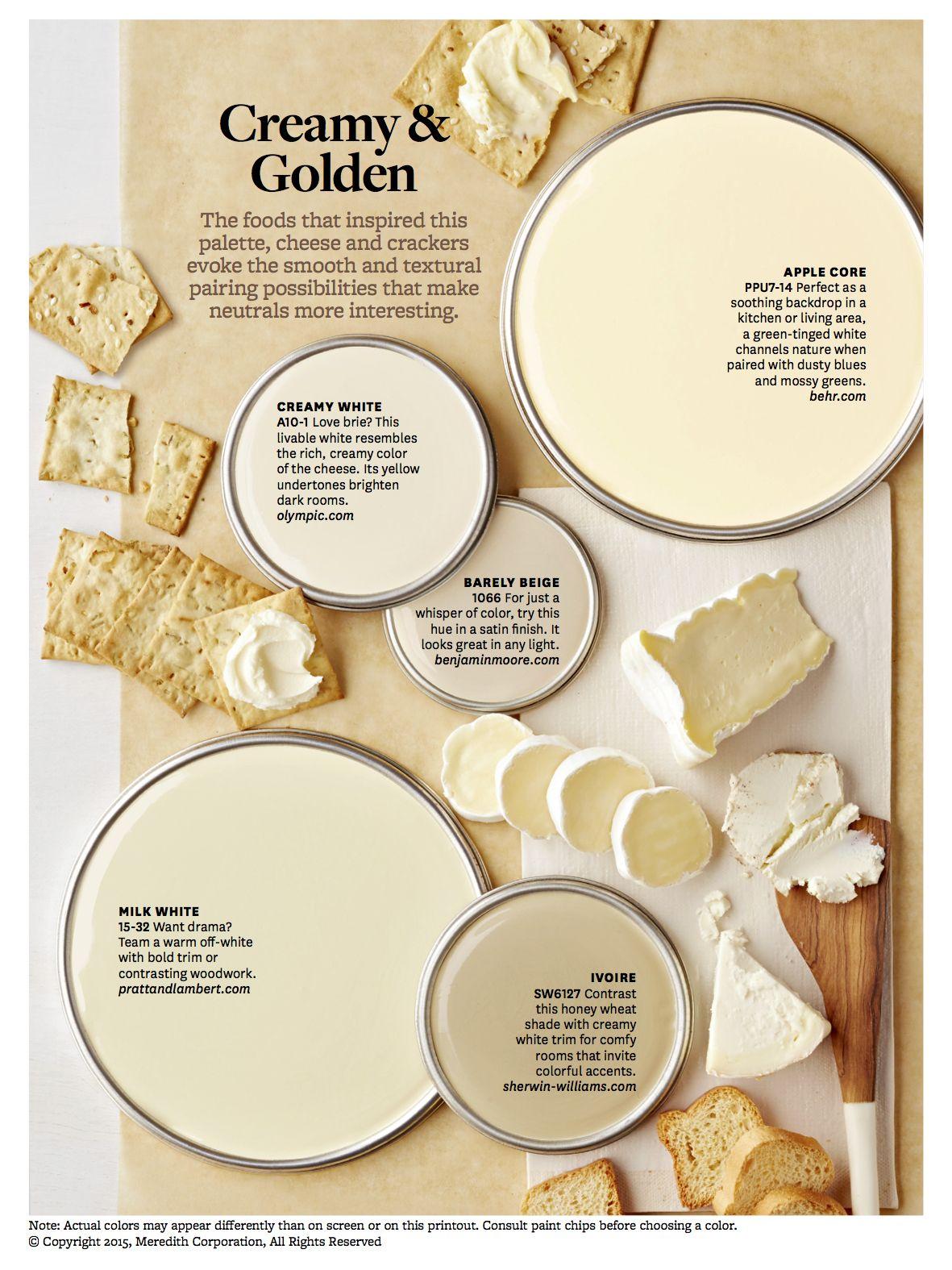 Creamy Whites, Neutral Colors | living room paint ideas | Pinterest ...
