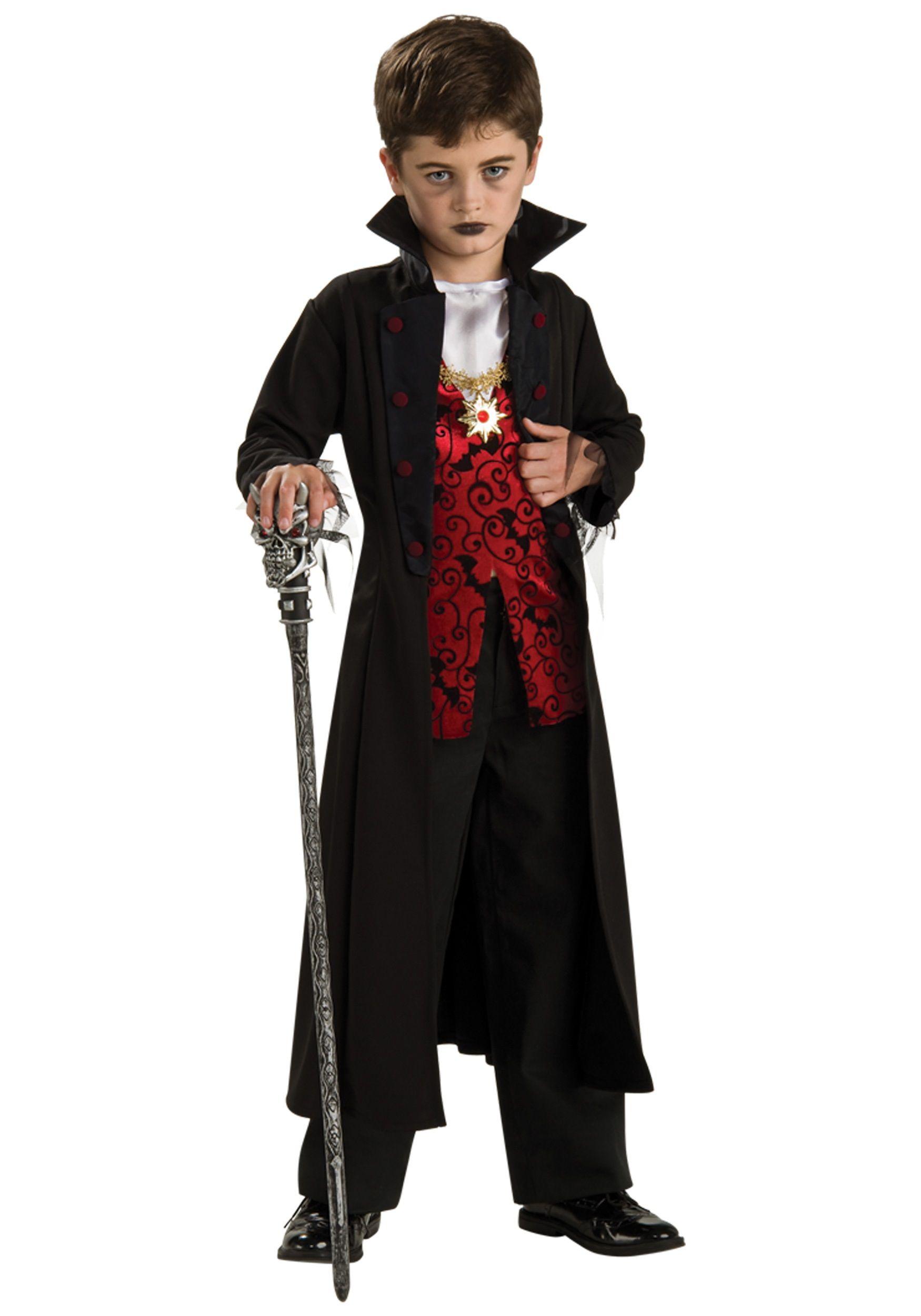Rubies Costume Transylvanian Vampire Costume with Short Cape Costume