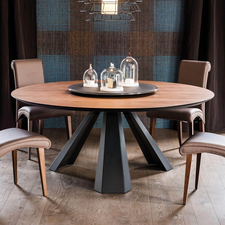 Tavolo rotondo in legno moderno Eliot di Cattelan - DIOTTI ...
