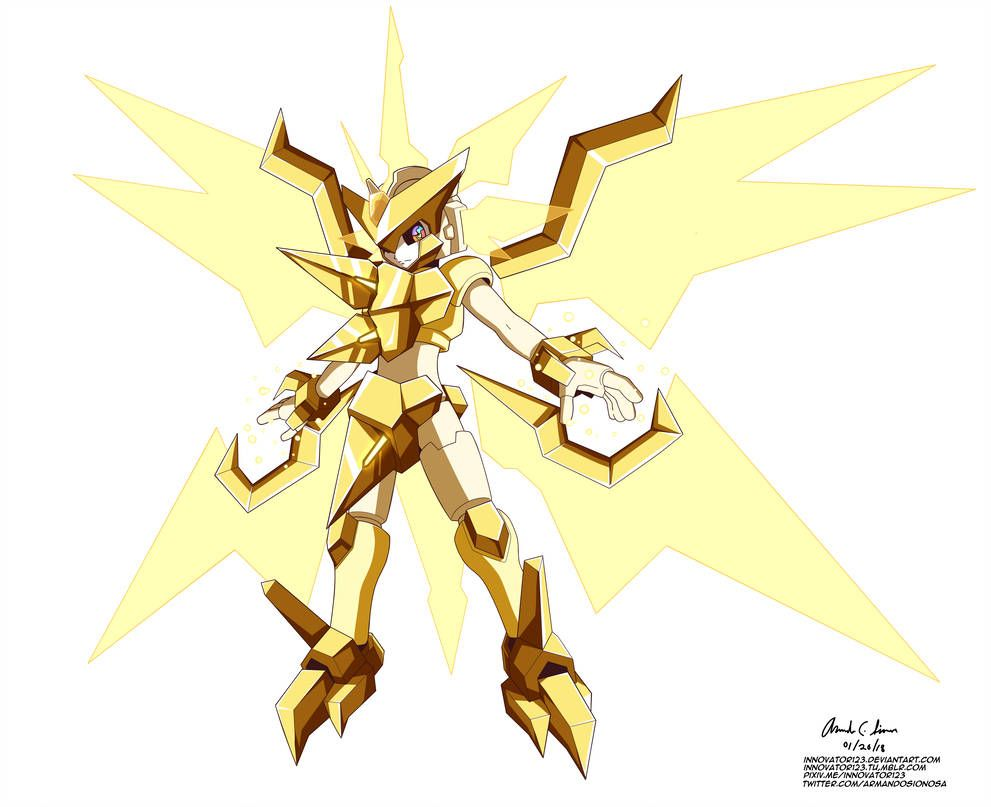Megaman Model Necrozma U by innovator123 on DeviantArt   Mega man art,  Pokemon fusion art, Pokemon crossover