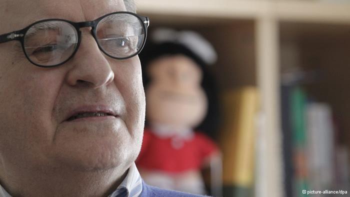 Francia homenajea al creador de Mafalda