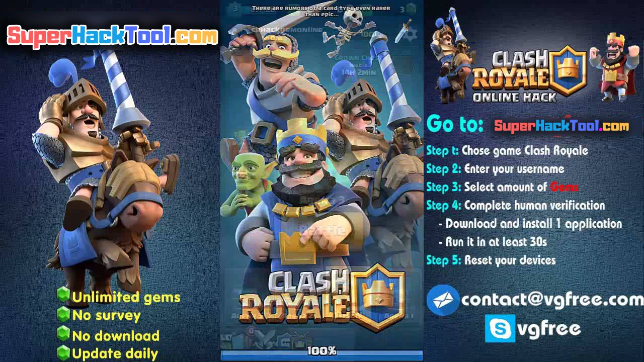 clash royale hack tool free download