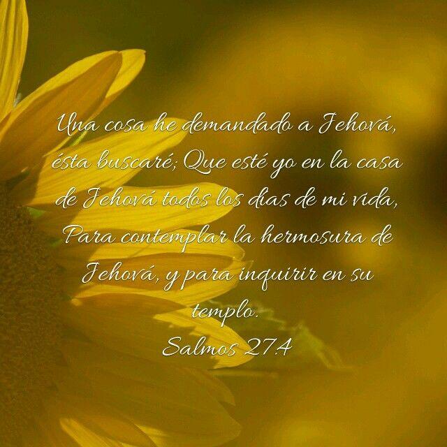 Salmo 27:4   biblia   Pinterest