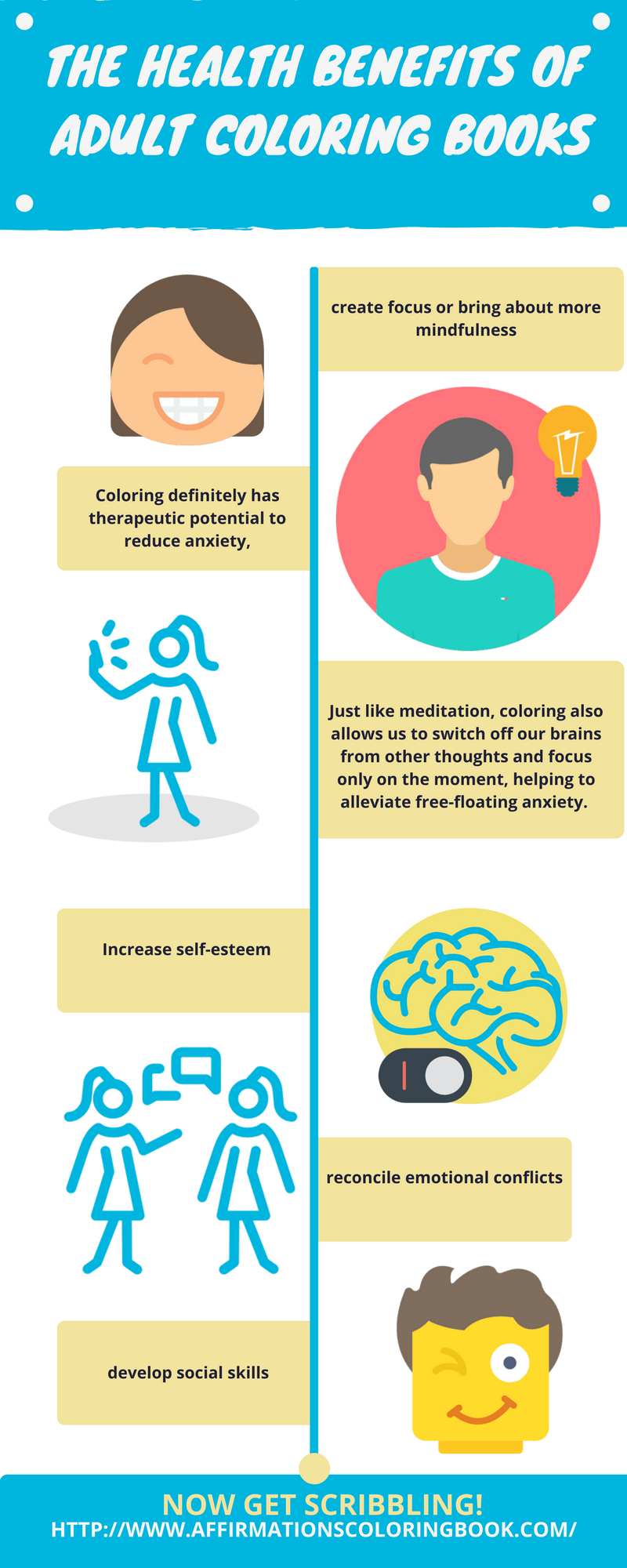 Colouring for adults benefits - Psychology Infographic Advice The Healht Benefits Of Adult Coloring Books Infographic Elearninginfograp Image Description The Healht Benefits Of