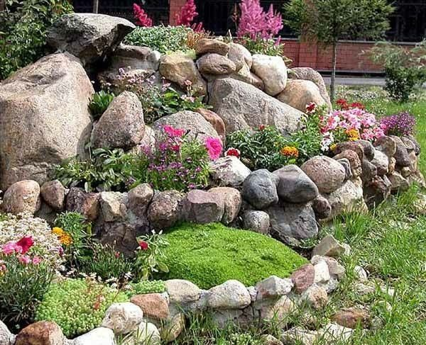 Pin By Bernadette Van Zyl On Sml Garden Ideas Pinterest Garden Mesmerizing Alpine Garden Design Exterior