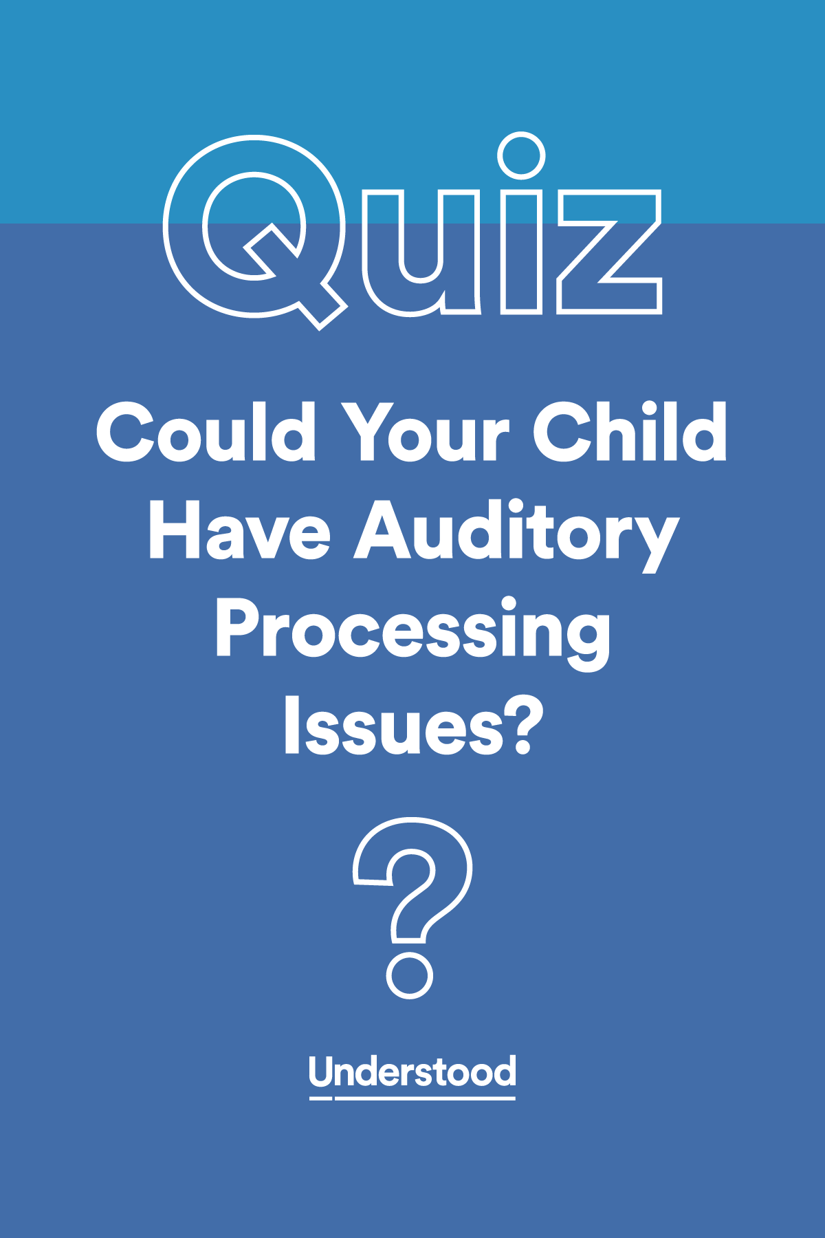 Auditory Processing Disorder What You Re Seeing