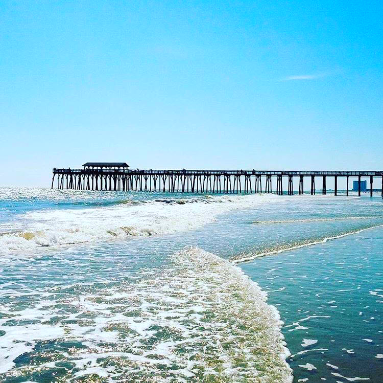 8 piers in the myrtle beach south carolina area for for Fishing myrtle beach sc