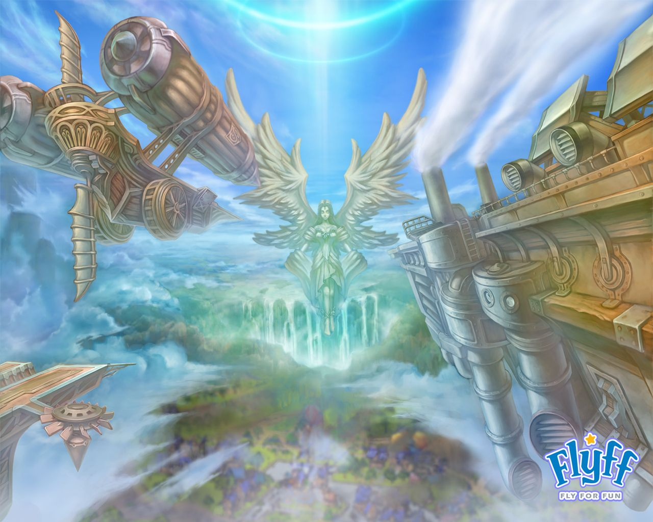 FLYFF anime mmo rpg manga fantasy action fighting