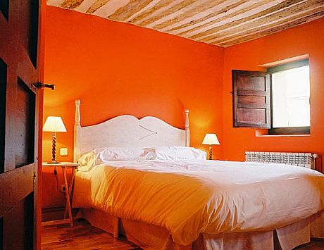 Dormitorio little naranja dormitorio en 2019 pinterest naranja color naranja y colores - Habitaciones color naranja ...