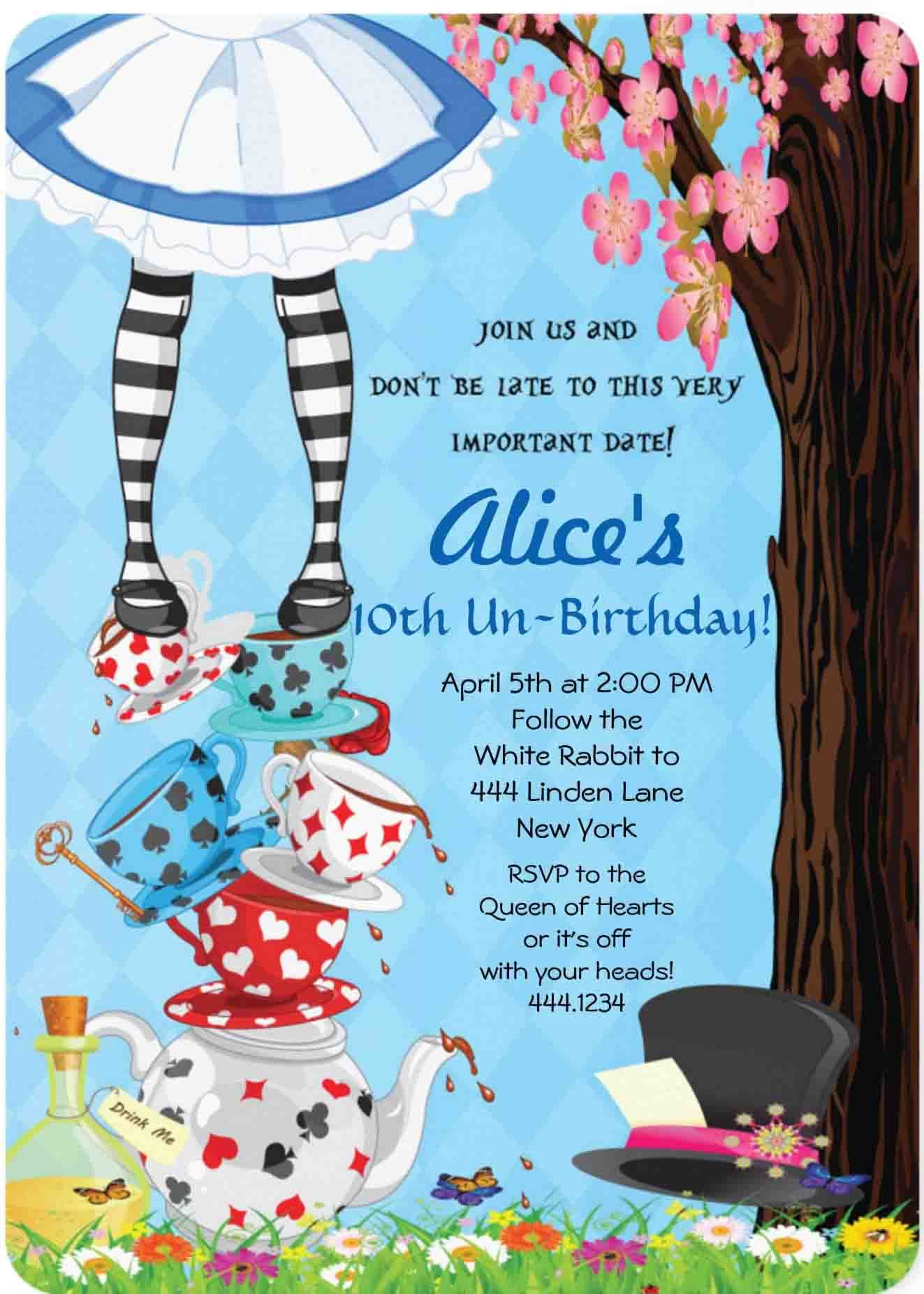 100 Alice In Wonderland Party Ideas By A Professional Party Planner