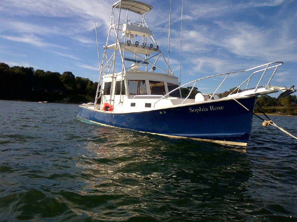 32ft holland downeast tuna boat 49k the hull truth for Fishing boat dealers near me
