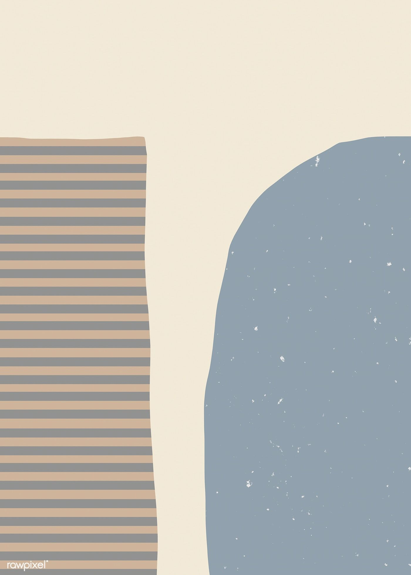 Download free illustration of Stylish Memphis abstract background design