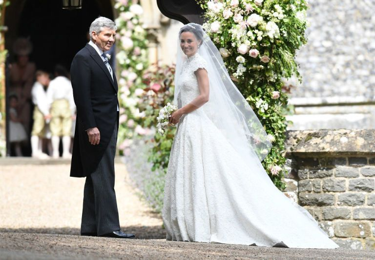 see what pippa middleton wore on her wedding day | fashion to die