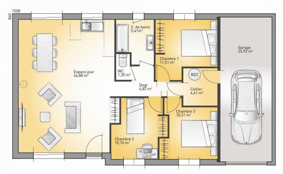 Plan Maison Neuve  Construire  Maisons France Confort Family  G