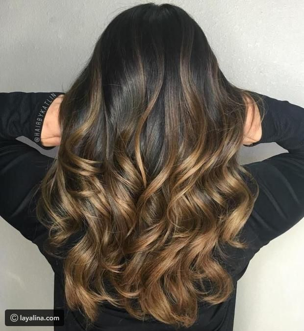 درجات الشعر البني الأومبري الصيحة الأكثر رواجا ليالينا Balayage Long Hair Hair Styles Ombre Hair Color For Brunettes