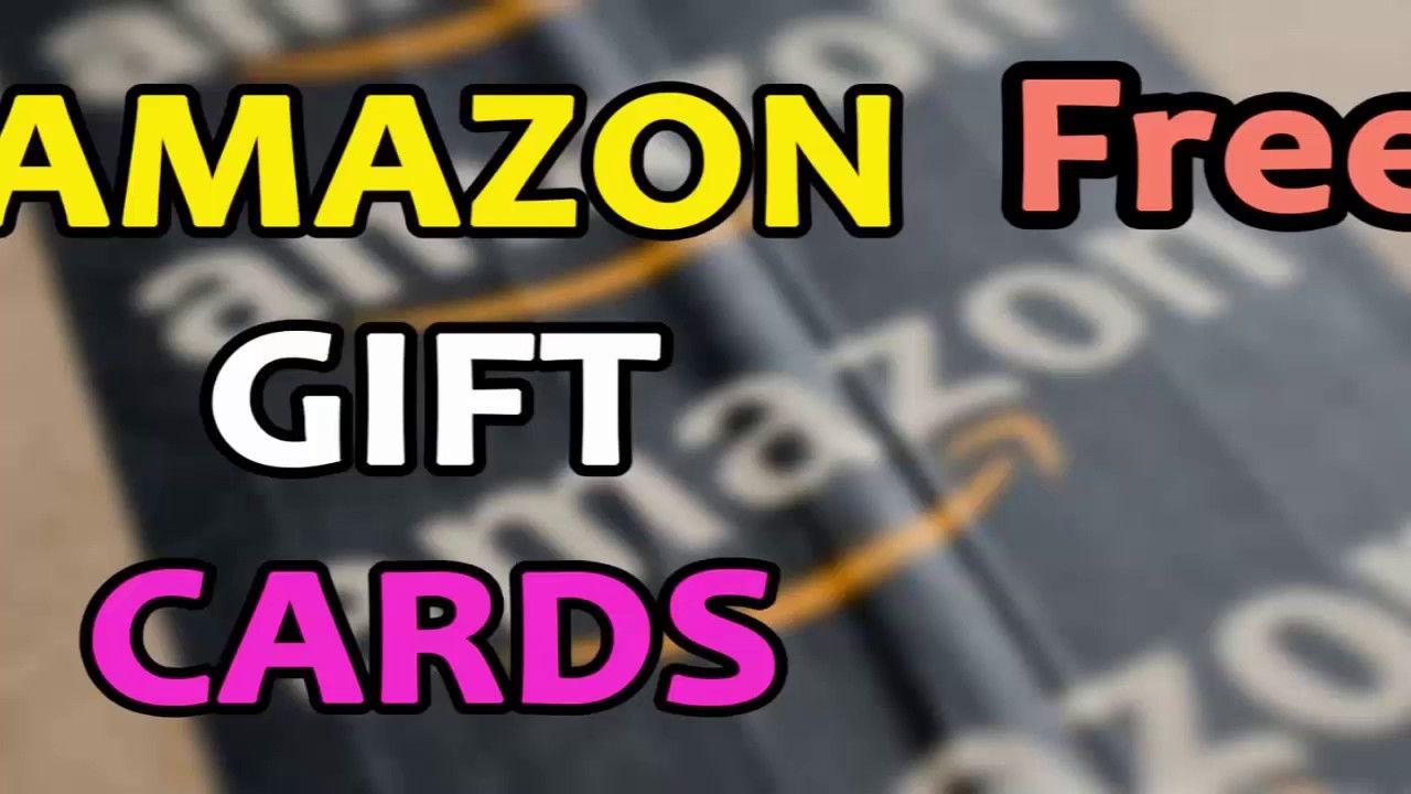 amazon gift card code generator free