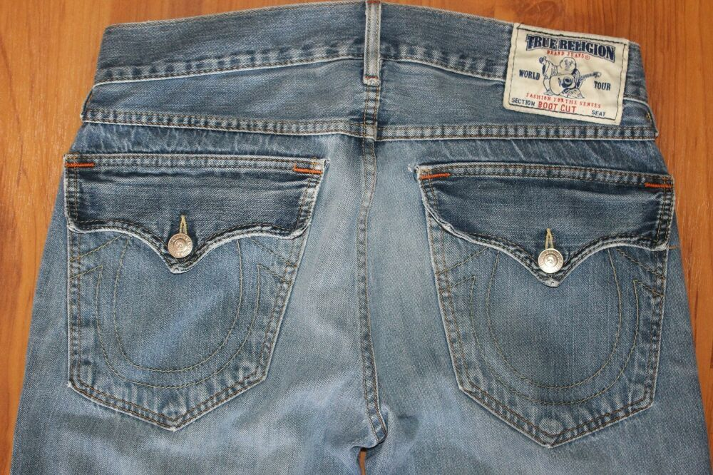 fc36df5a TRUE RELIGION Men's BOOT CUT Jeans 33 x 34 Distressed LIGHT Wash VGC Vintage  USA #fashion #clothing #shoes #accessories #mensclothing #jeans (ebay link)