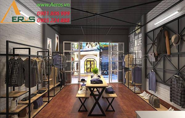 Thiết kế shop thời trang nam Ohayo tại quận 3, TP.HCM