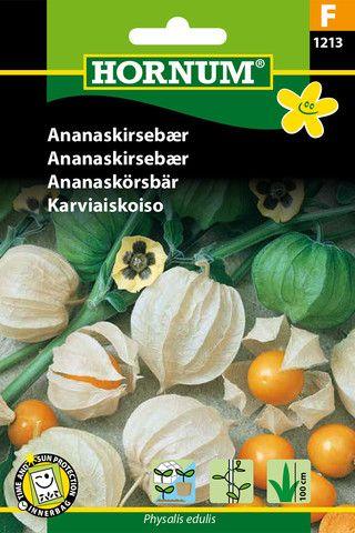 Billige frø hos Netfloristen.dk fx Ananaskirsebær (F)