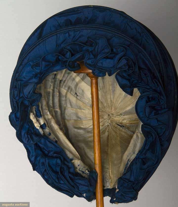 White Silk Taffeta Faille Bow Back Jumpsuit With: Sapphire Blue Silk Taffeta Calash