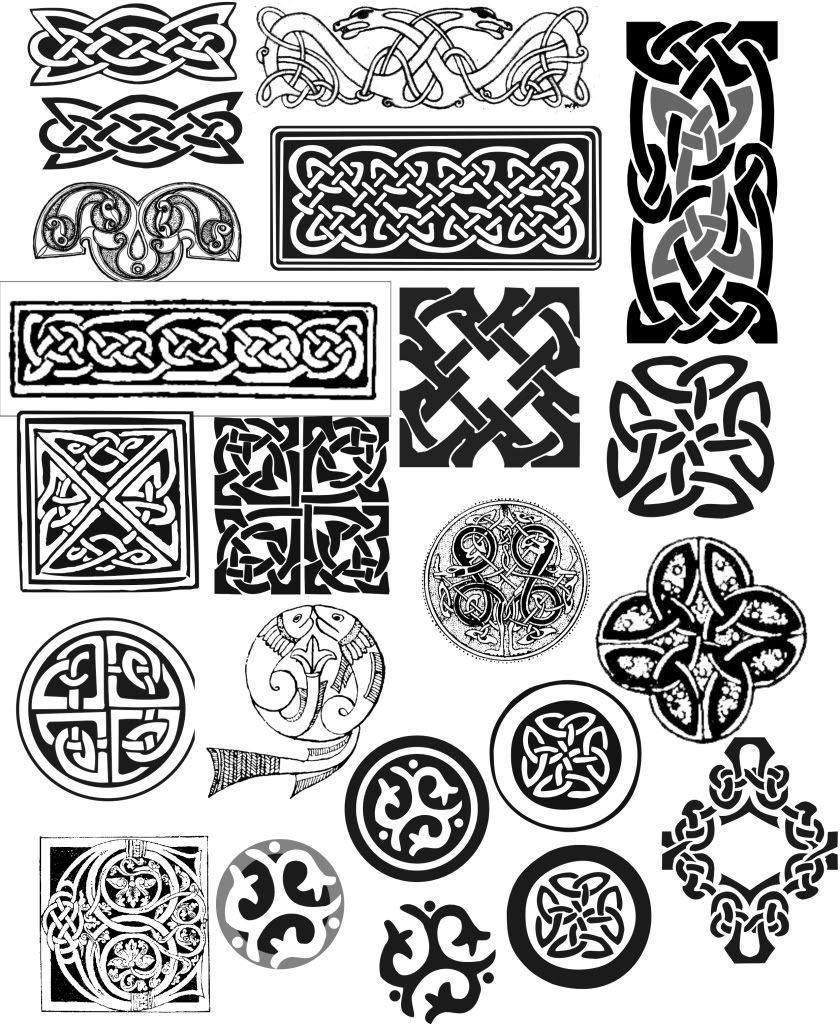 celtic knot samples photo these are a few of the various
