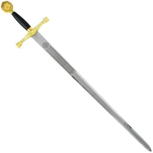 Trademark Gold King Arthur's #1 Premier Sword by Whetstone Cutlery. $51.93. King Arthur's Premiere Sword.  Centerpiece sword for any collection.