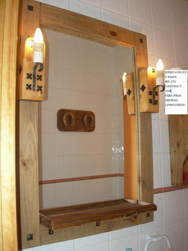 espejos rusticos de madera buscar con google reciclado