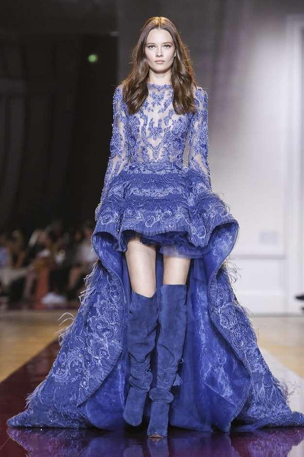 Fantástico Cobalto Vestidos De Dama De Honor Azul Regalo - Vestido ...